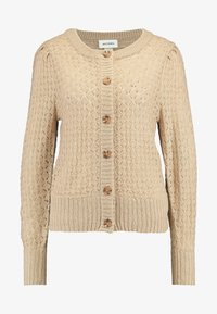 Monki - MARIA CARDIGAN - Cardigan - beige medium dusty - 4