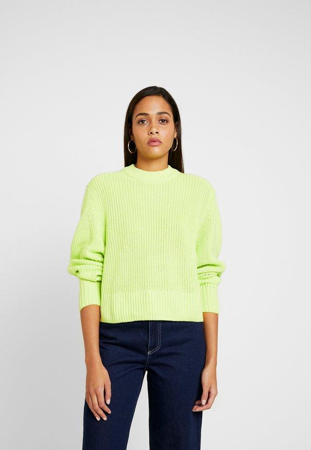 AGATA BASIC - Sweter - light green