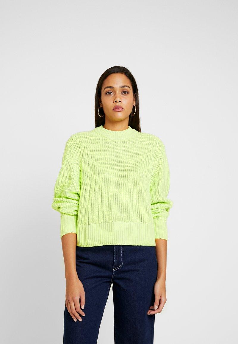 Monki - AGATA BASIC - Trui - light green