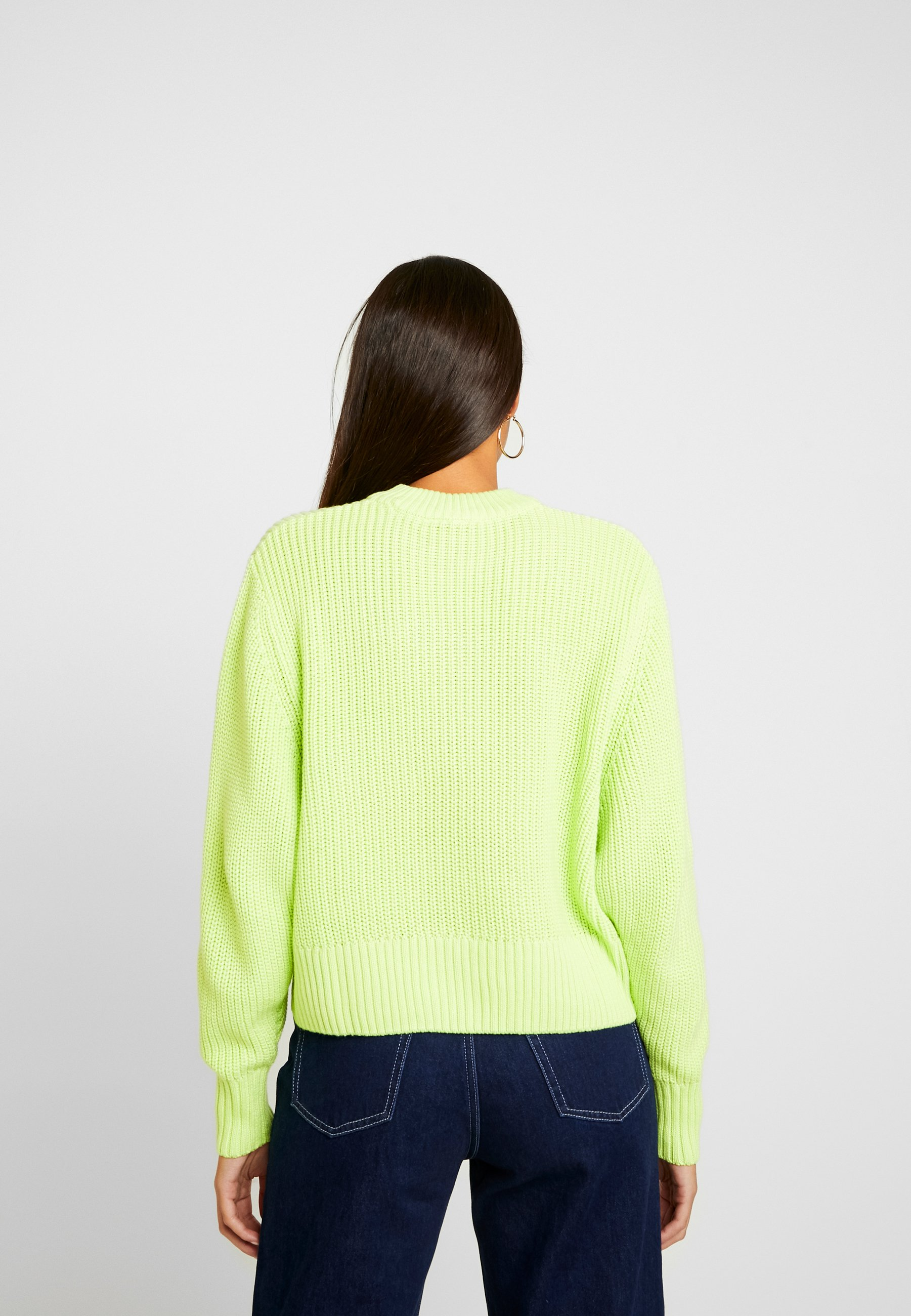 Monki AGATA BASIC - Strikkegenser - light green