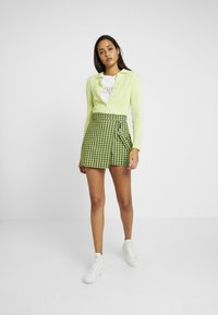 Monki - VILLYS - Gilet - light green - 1