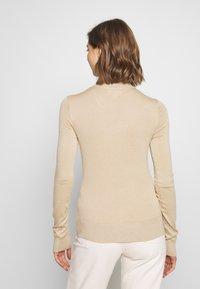 Monki - INGRID  - Sweter - beige medium dusty - 2