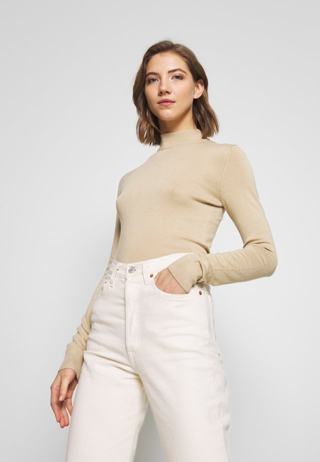 INGRID  - Jumper - beige medium dusty