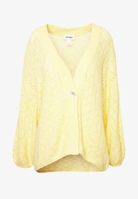 Monki - NALA CARDIGAN - Cardigan - yellow light - 3