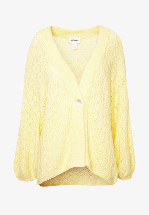 NALA CARDIGAN - Cardigan - yellow light