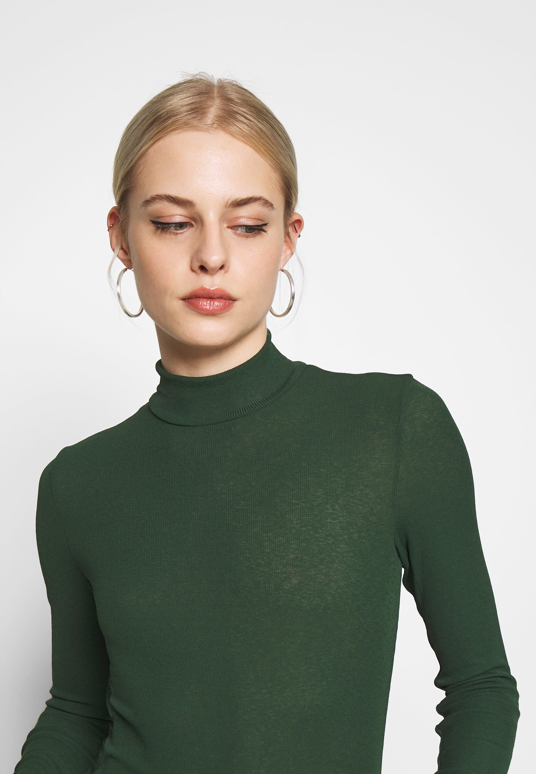 Monki Java - Jumper Green Dark