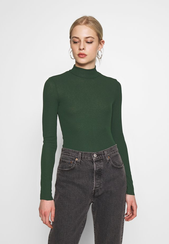 JAVA  - Long sleeved top - green dark