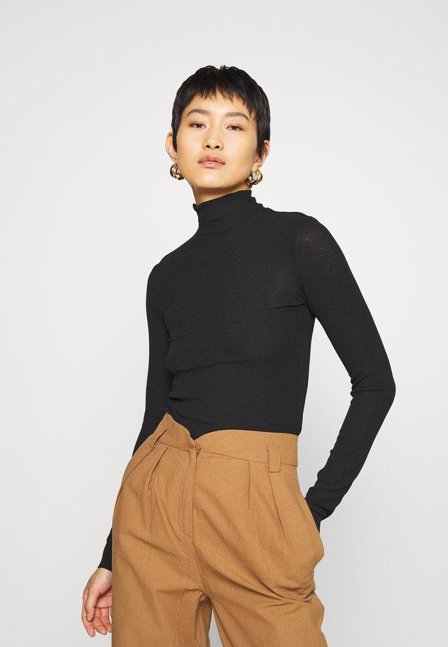 JAVA  - Bluzka z długim rękawem - black