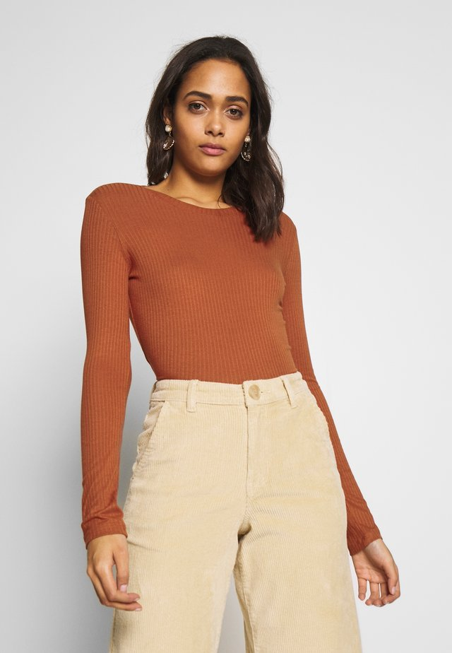 LILIANA - Long sleeved top - orange