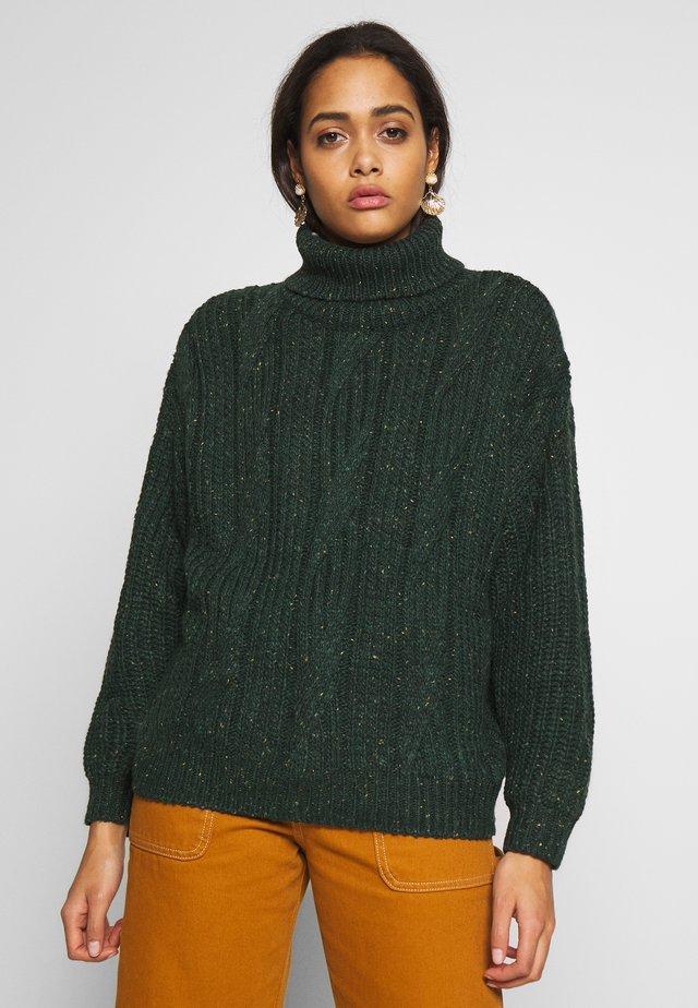 PELLA - Sweter - green