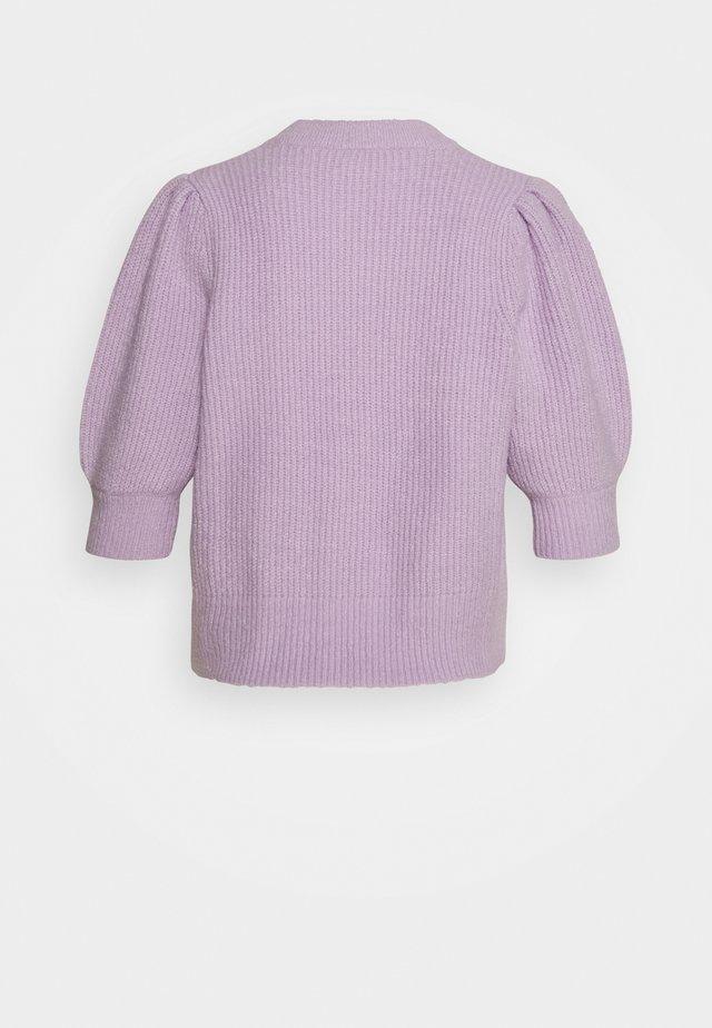 PUFFY CARDIGAN - Vest - lilac