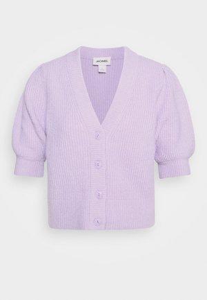 PUFFY CARDIGAN - Cardigan - lilac