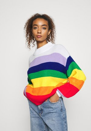 MANDA - Strikkegenser - multi-coloured