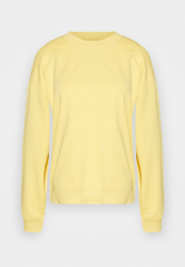 Sweatshirt - yellow unique