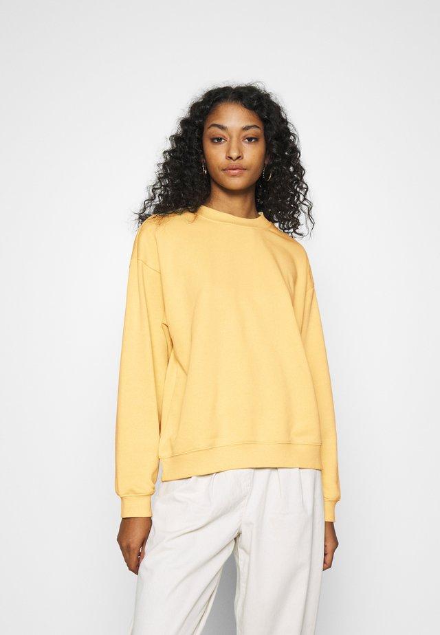 Sweatshirt - yellow unique