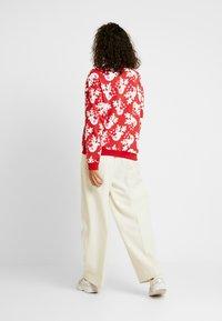 Monki - Sweatshirt - red/white - 2