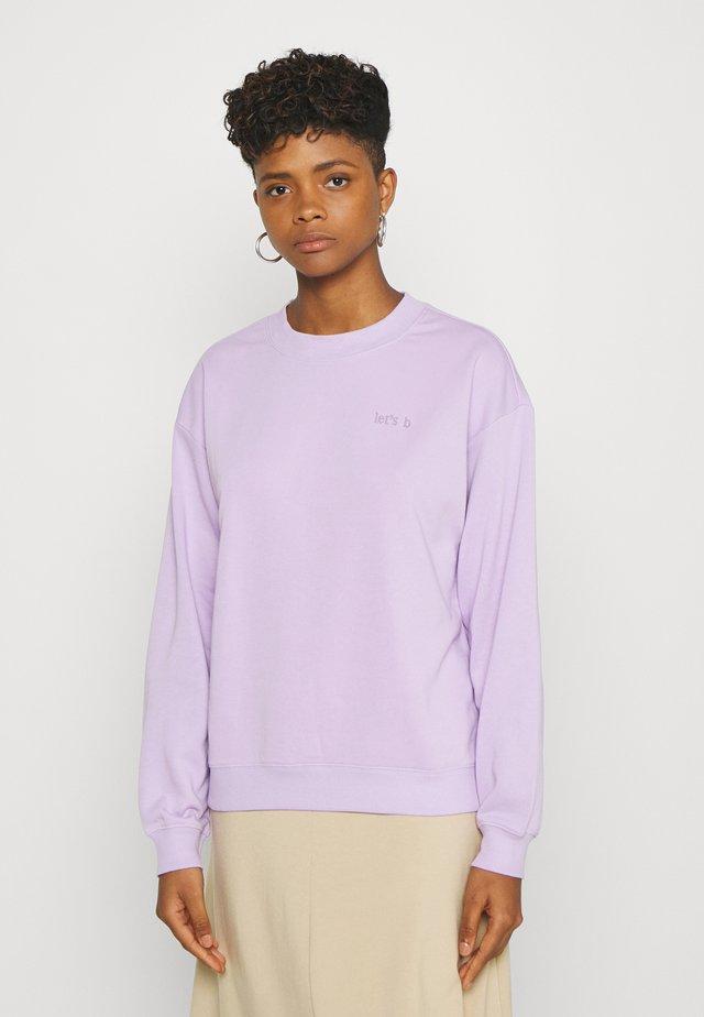 Sweatshirt - lilac