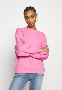 Monki - Felpa - pink medium solid - 0