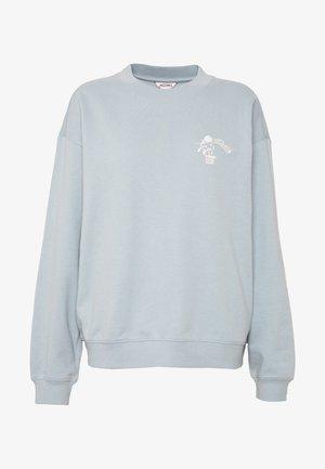 Sweatshirt - tourquose dusty light