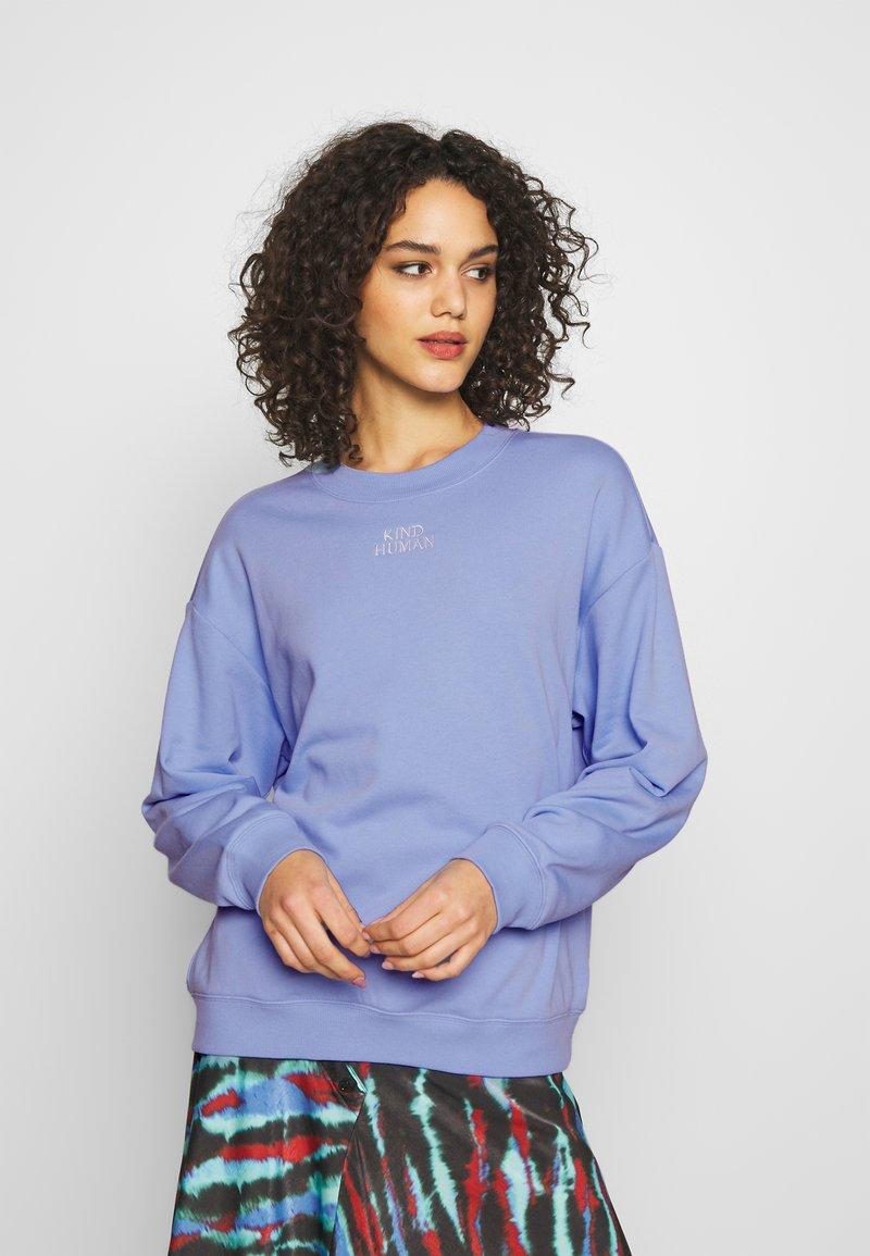 Monki - Sweater - blue light