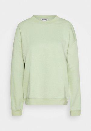 Sweatshirt - dusty green unique