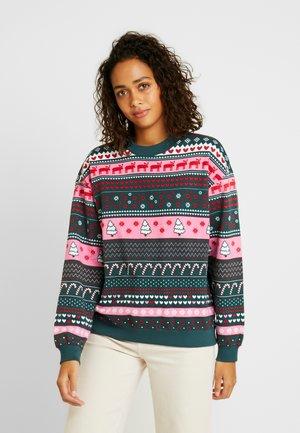 Sweatshirts - green/pink
