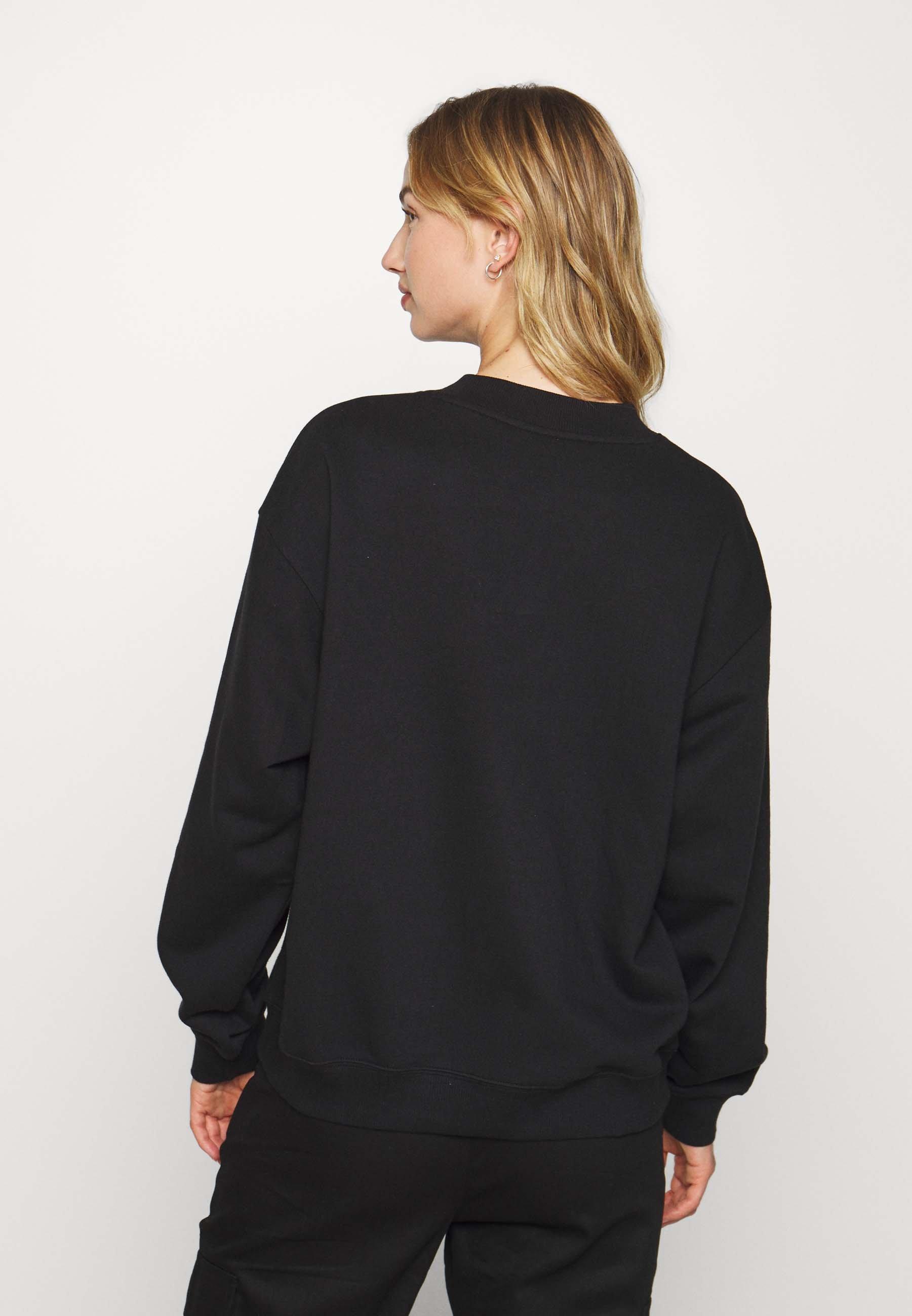 Monki Sweatshirt black dark ZALANDO.FR