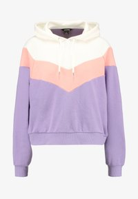 beige/lilac/coral