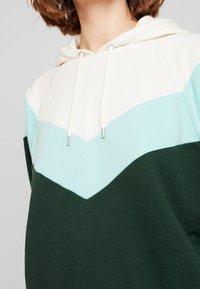 Monki - ODINA SPECIAL - Huppari - dark green/white/mint - 5