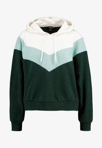 Monki - ODINA SPECIAL - Huppari - dark green/white/mint - 4