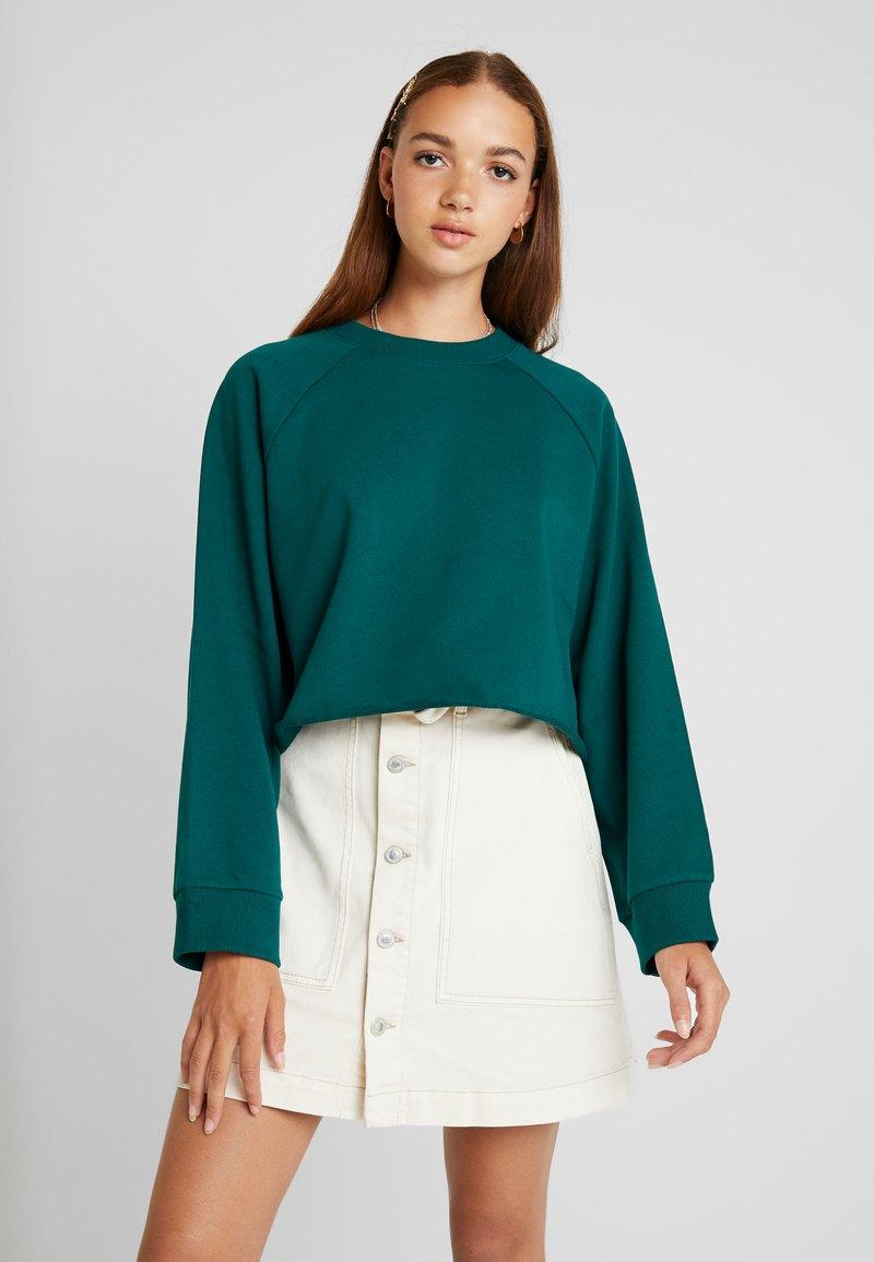 Monki - ESTRID - Sweatshirt - dark green