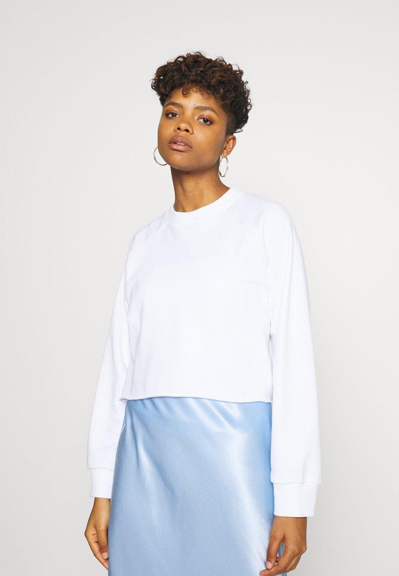 Monki - ESTRID - Sweatshirt - white