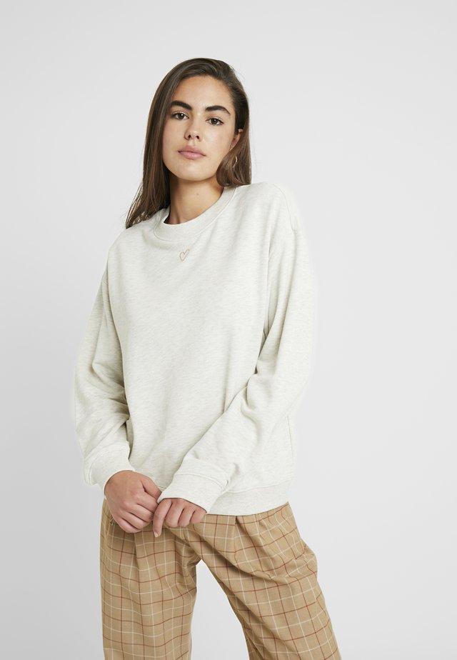 Sweatshirt - beige medium dusty