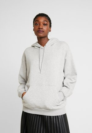 ODA - Sweat à capuche - grey dusty light
