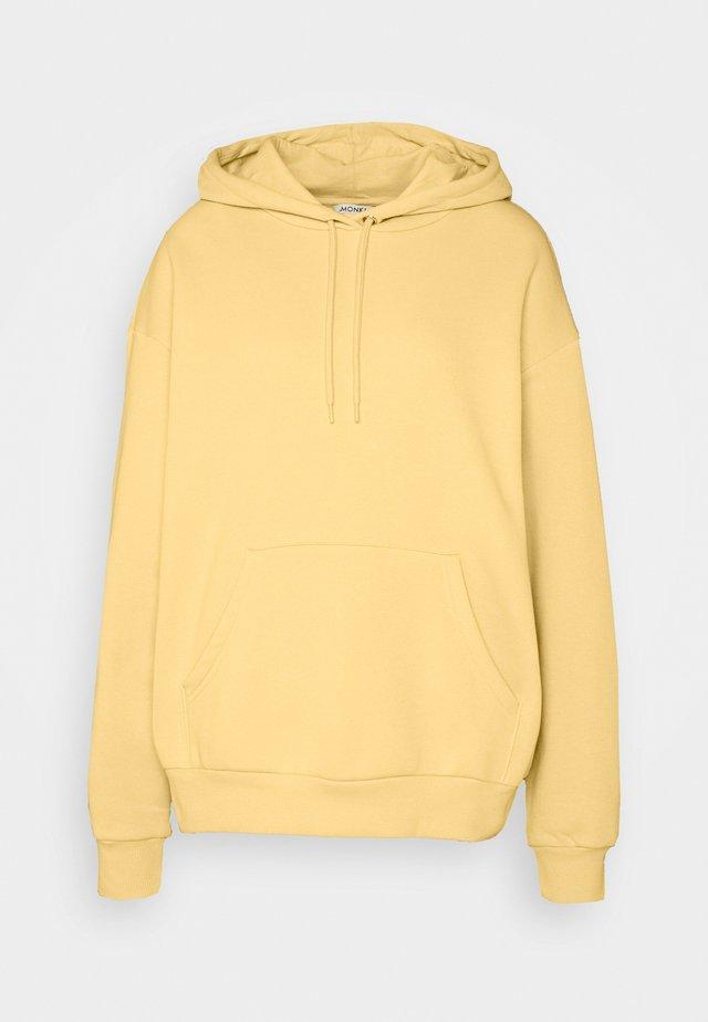 Hoodie - yellow unique