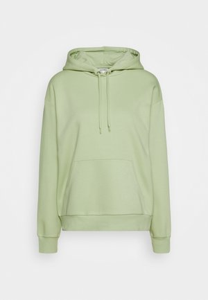 Hoodie - dusty green unique