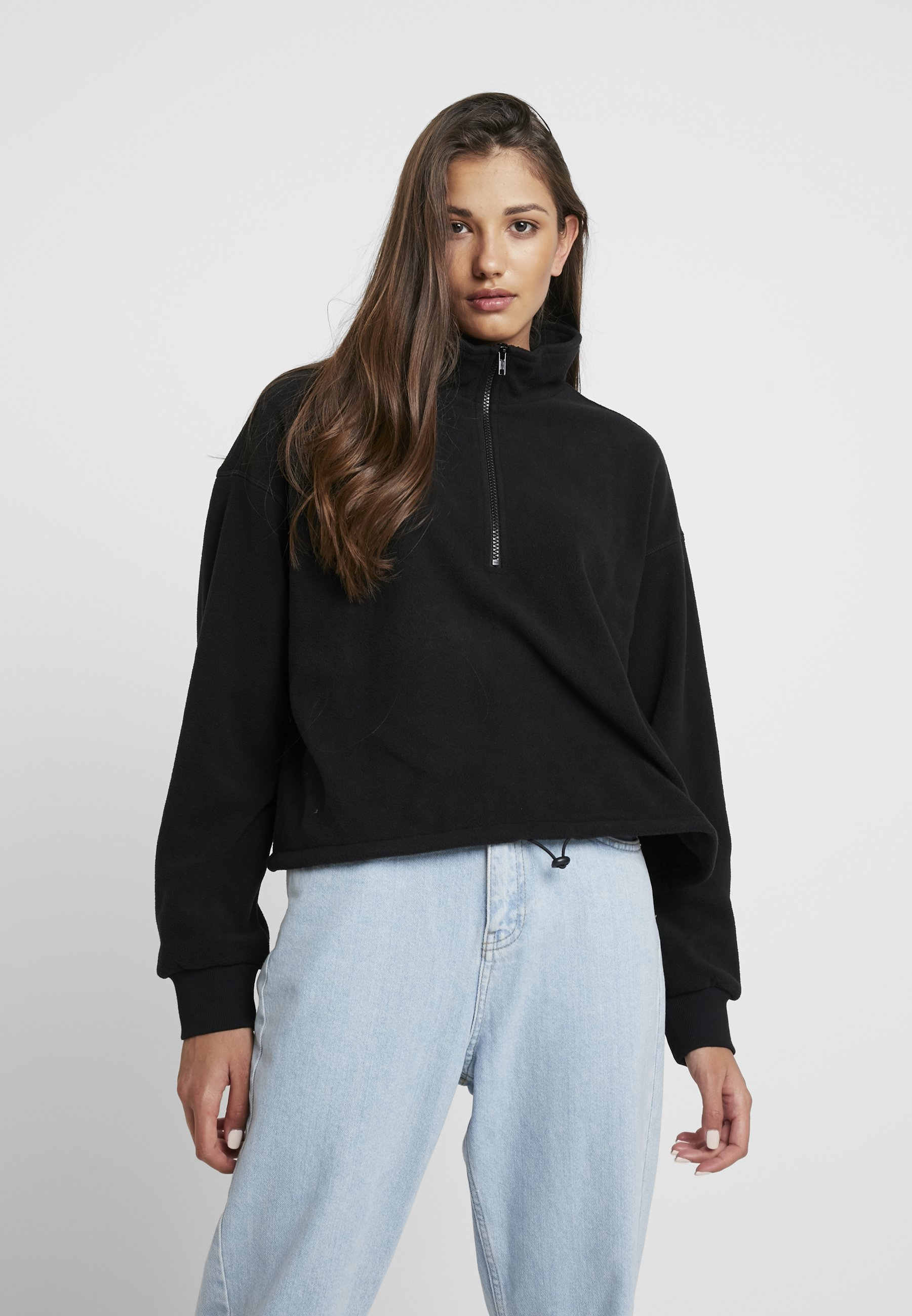Monki Monki SummerSweatshirt SummerSweatshirt SummerSweatshirt Black Monki Black rdohtsQBCx