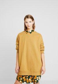 Monki - BEATA OVERSIZED - Sweatshirt - beige - 0