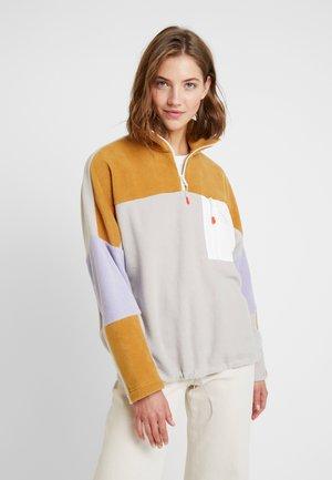 Bluza z polaru - beige