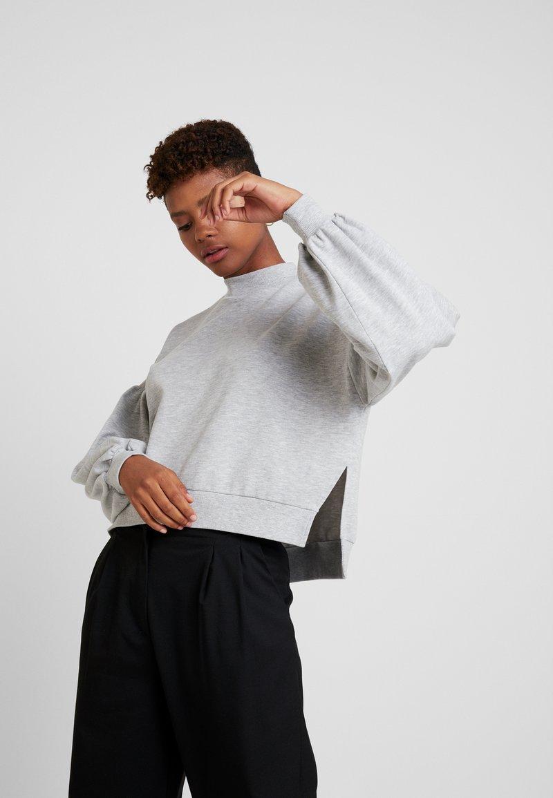 Monki - MARY - Sweater - grey melange
