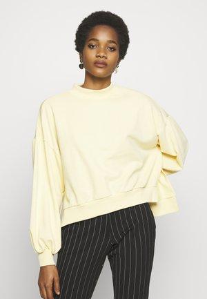 MARY - Sweatshirt - yellow