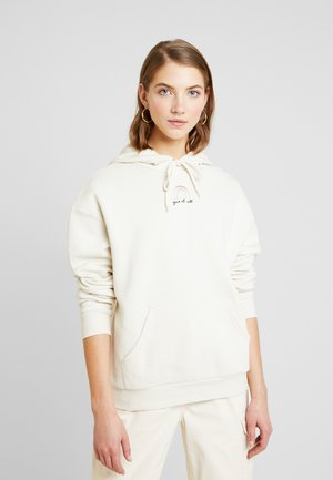 ODA URGENT - Sweat à capuche - cream
