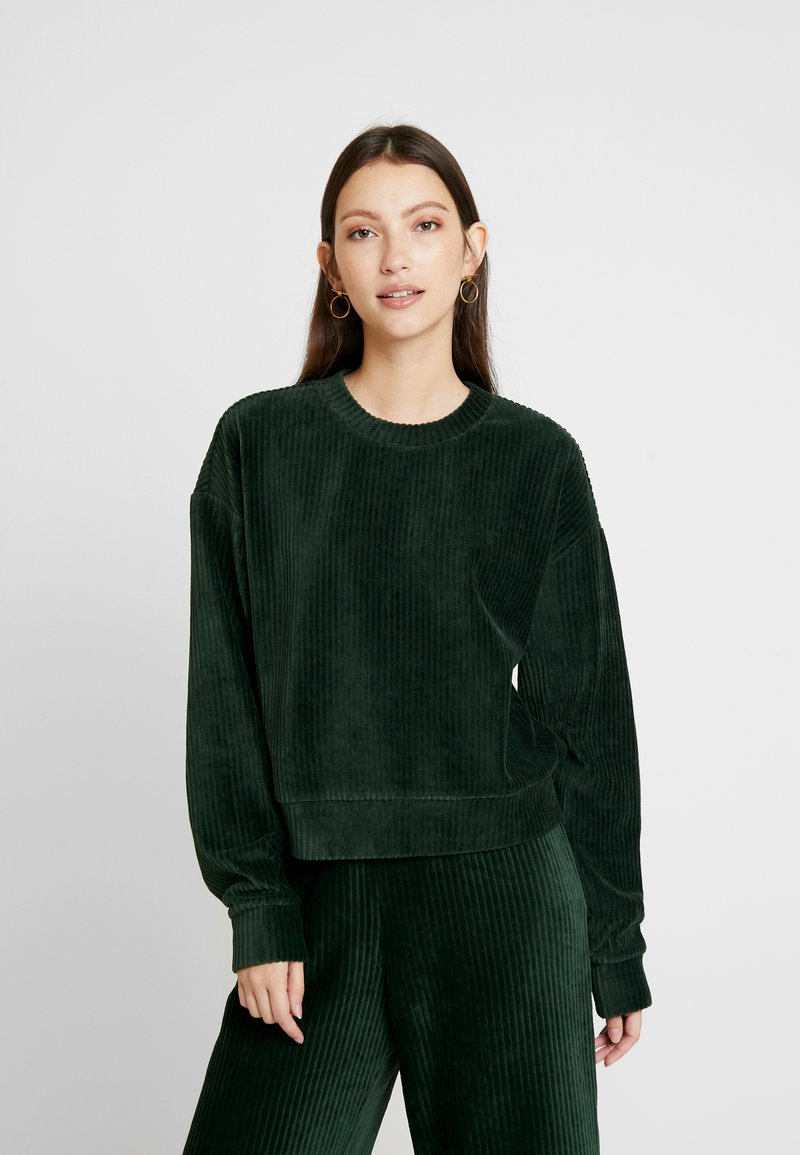 Monki - Mikina - green