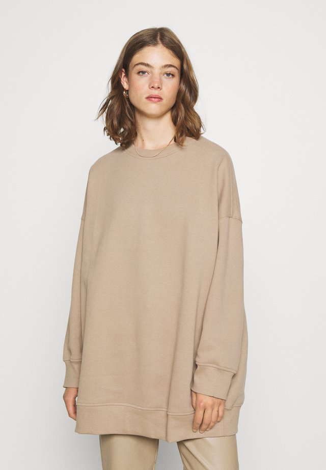 BEATA - Sweatshirt - beige dark