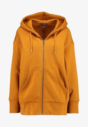 JOA HOODIE - Zip-up hoodie - camel