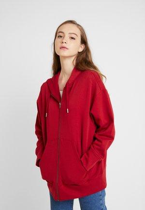 JOA HOODIE - Bluza rozpinana - red