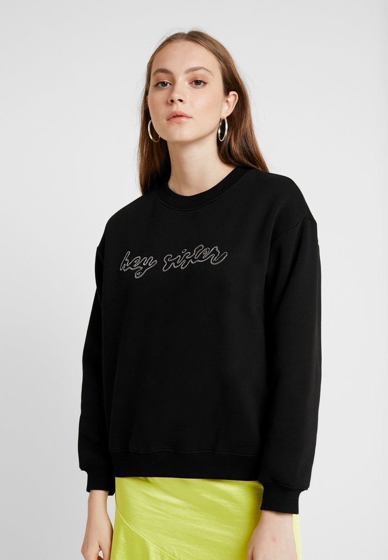 Monki - SPECIAL - Sweater - black