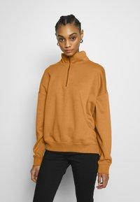Monki - MAI - Sweatshirt - beige - 0