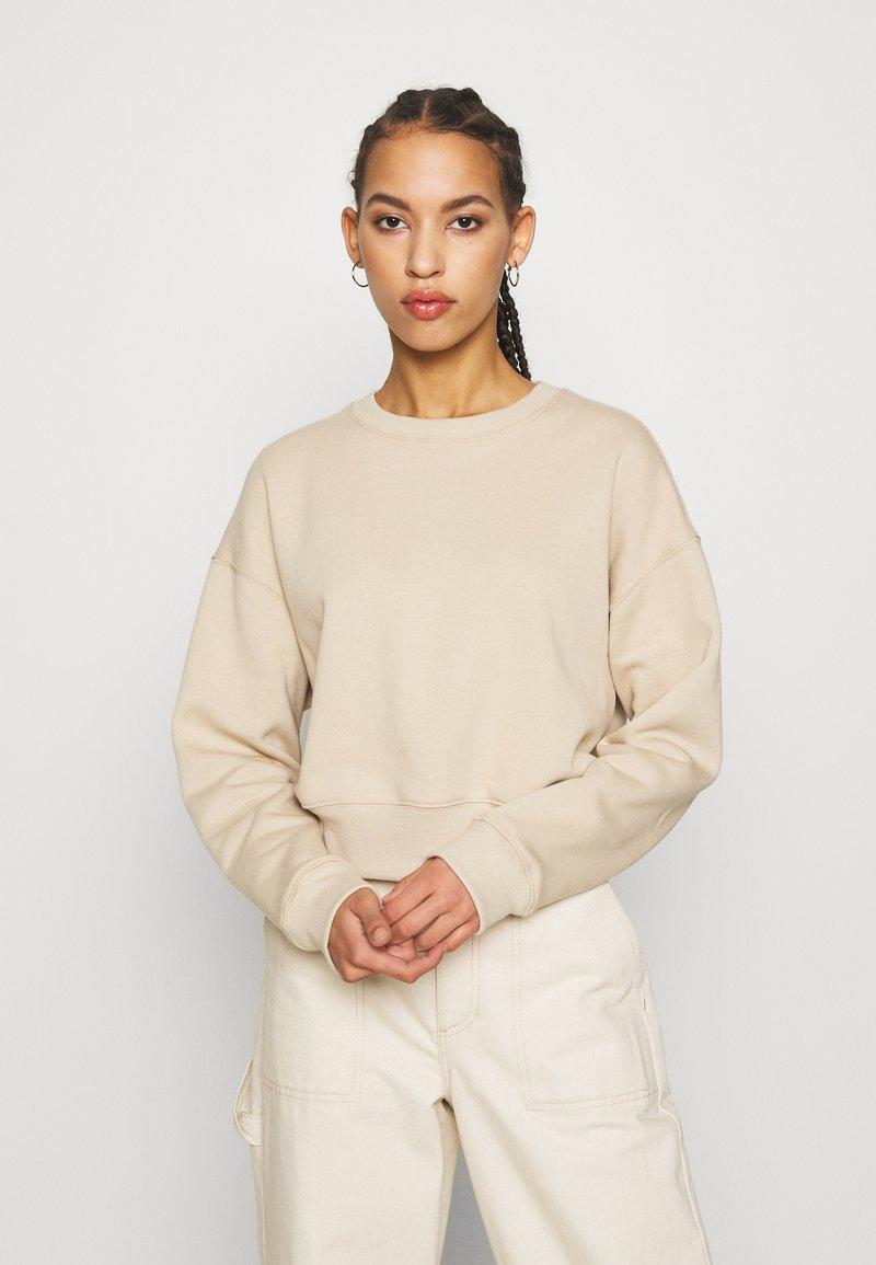 Monki - AMY - Felpa - beige