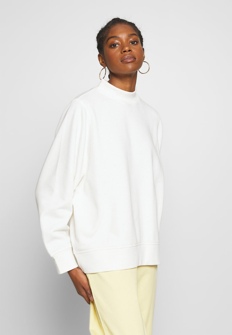 Monki - BESSY - Sweatshirt - white light